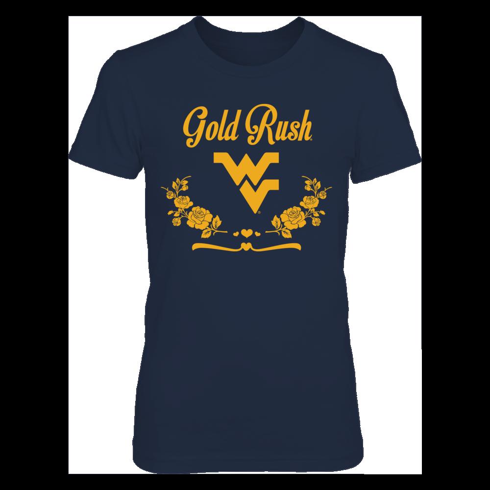 West Virginia Mountaineers West Virginia Gold Rush FanPrint
