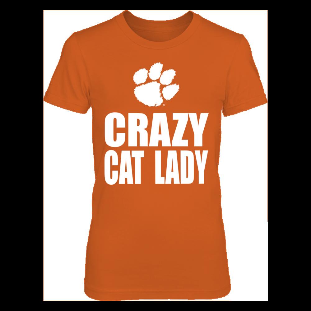 Crazy Cat Lady Clemson Front picture