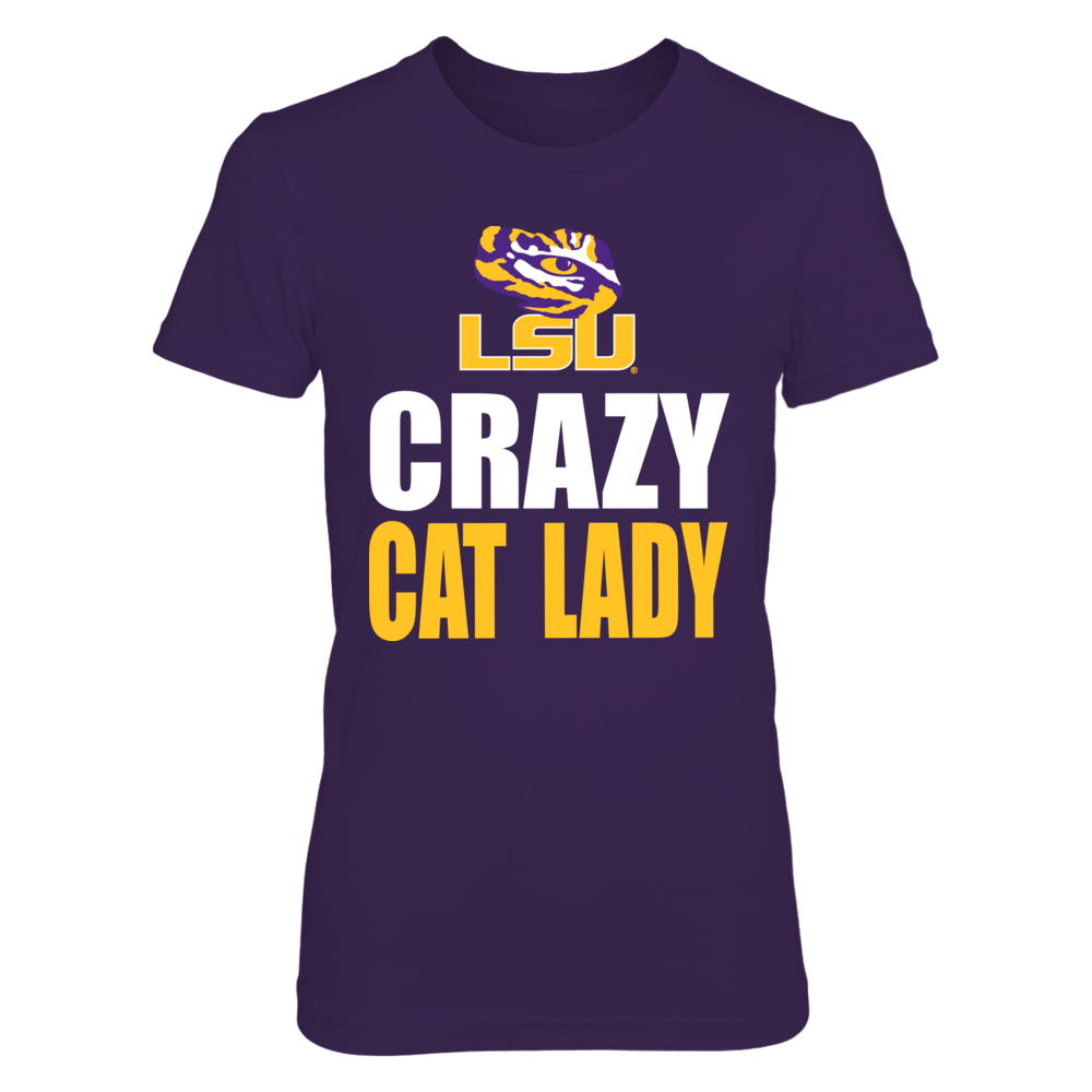 Crazy Cat Lady LSU Front picture