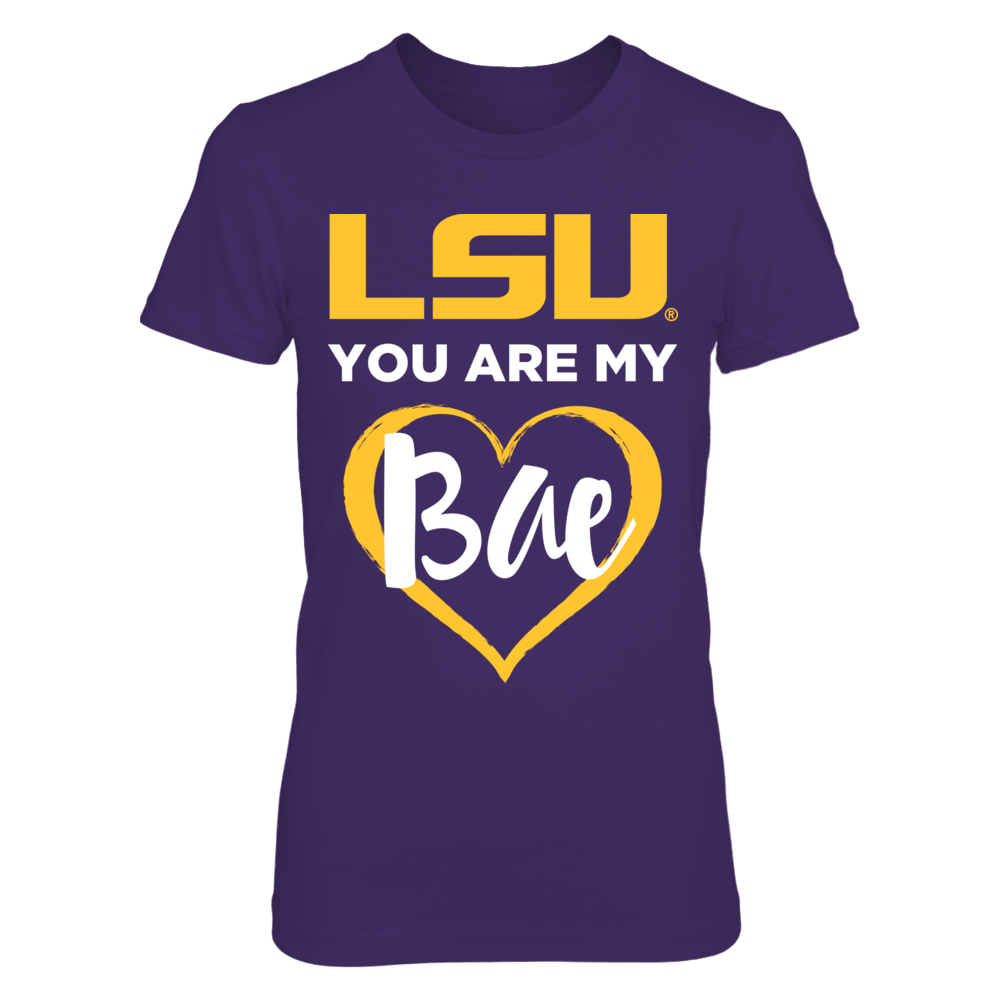 LSU You Are My Bae - Womens LSU Tigers Shirt Front picture