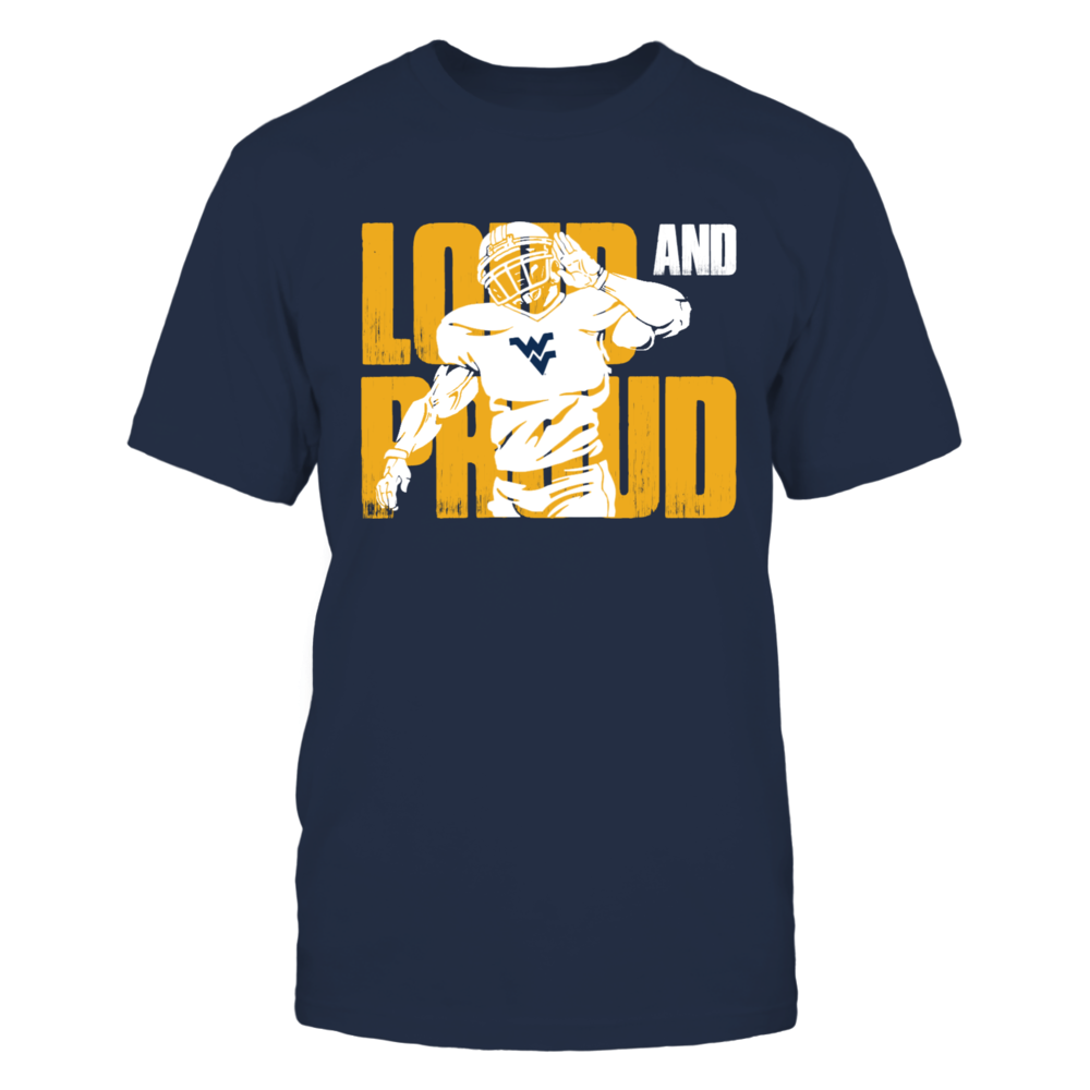 Loud And Proud West Virginia Mountaineers Front picture
