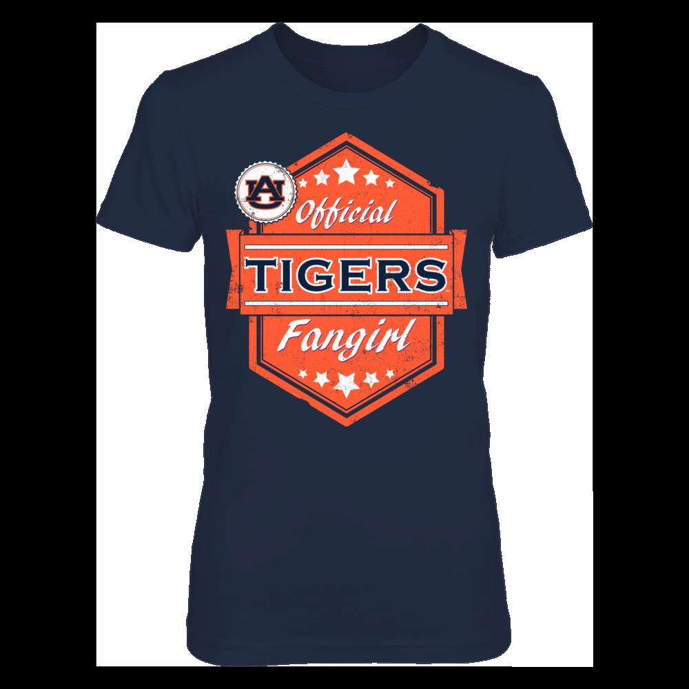 Auburn Tigers Official Auburn Tigers Fangirl FanPrint