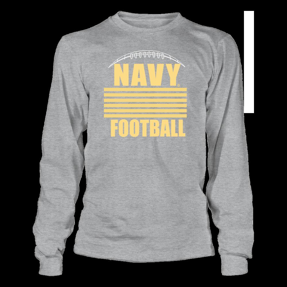 Navy Midshipmen Navy Football Apparel - Insignia FanPrint