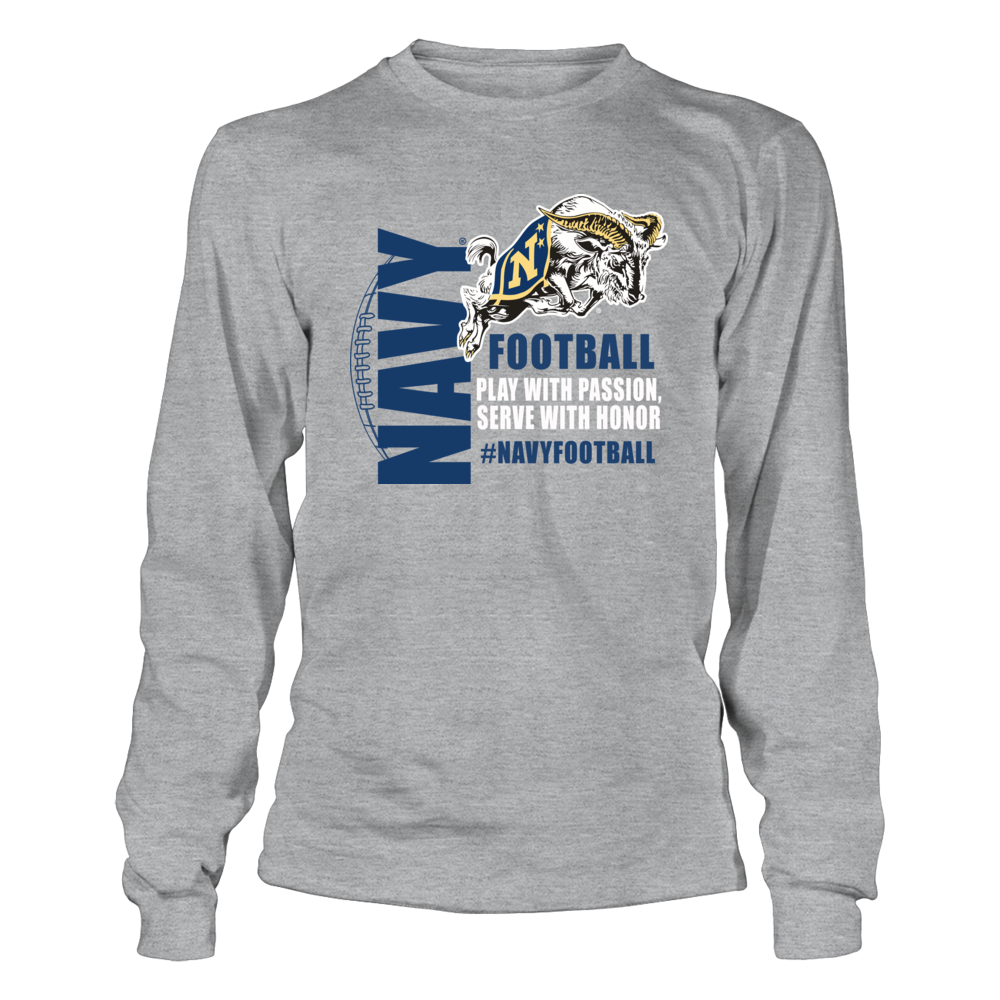 Navy Football Clothing - Midshipmen Mascot Apparel Front picture