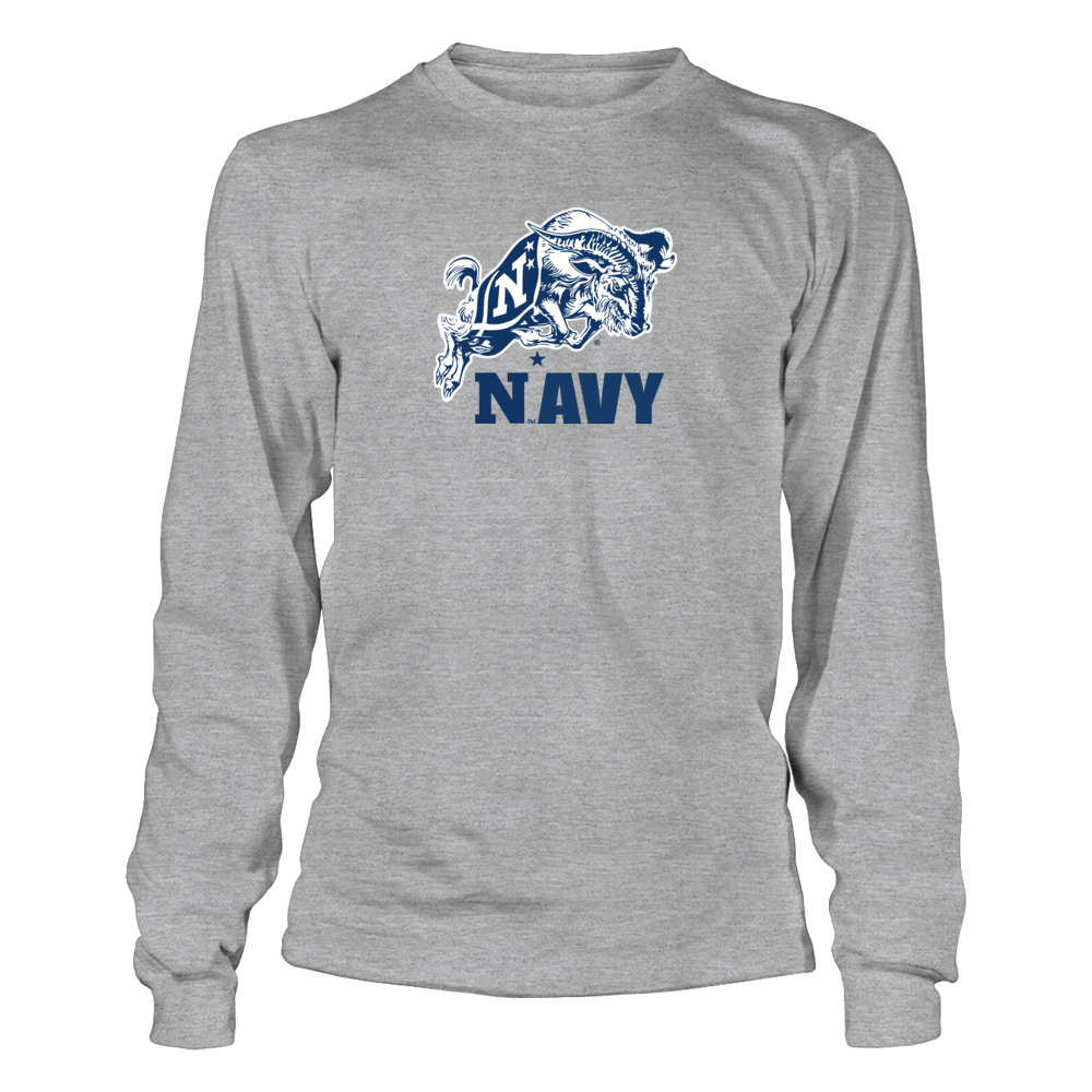 Navy Midshipmen Navy Football Mascot Shirt FanPrint