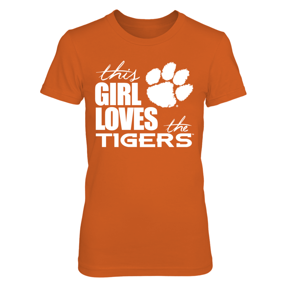 Clemson Tigers This Girl Loves The Clemson Tigers FanPrint