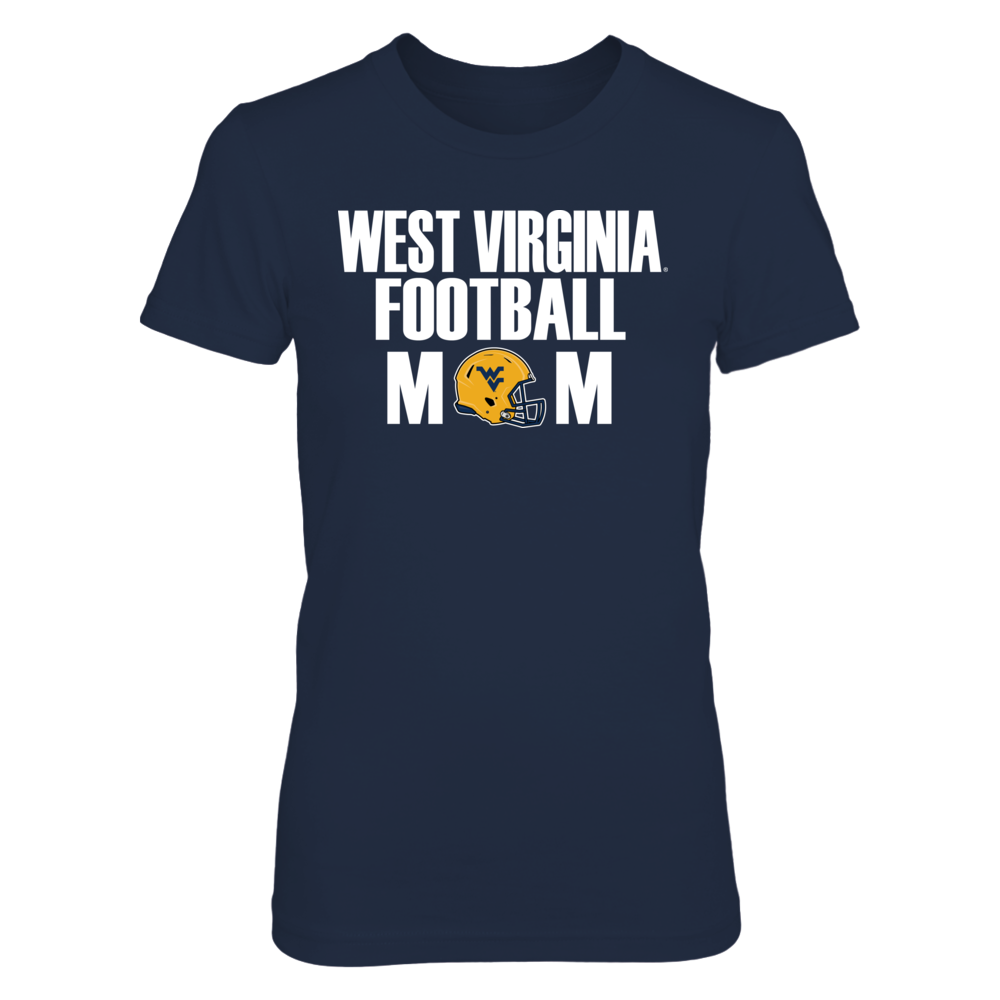 West Virginia Mountaineers West Virginia Football Mom FanPrint