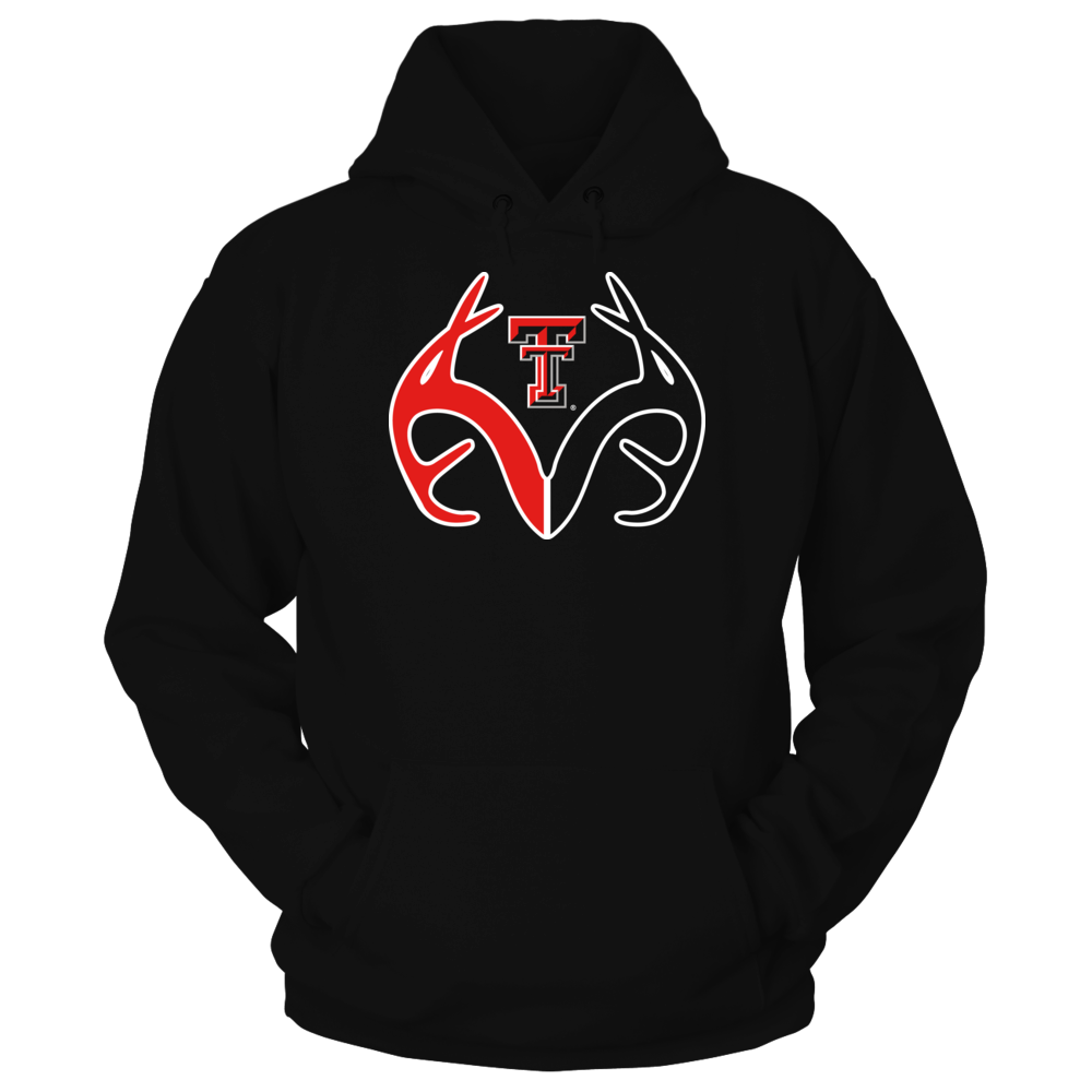 Antler Logo - Texas Tech Red Raiders Front picture