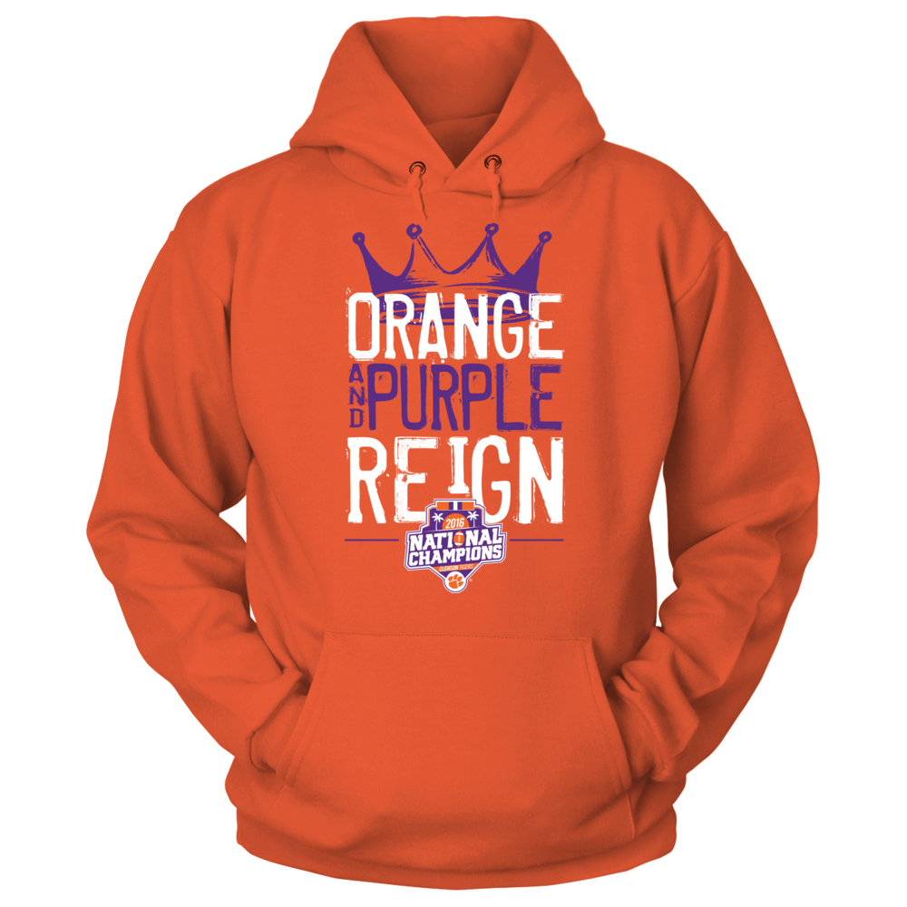 Clemson Tigers - Purple Reign V2 2016 Champions Front picture