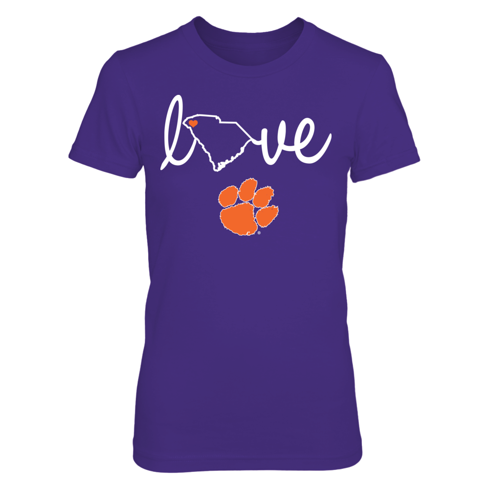 State Love - Clemson Tigers Front picture