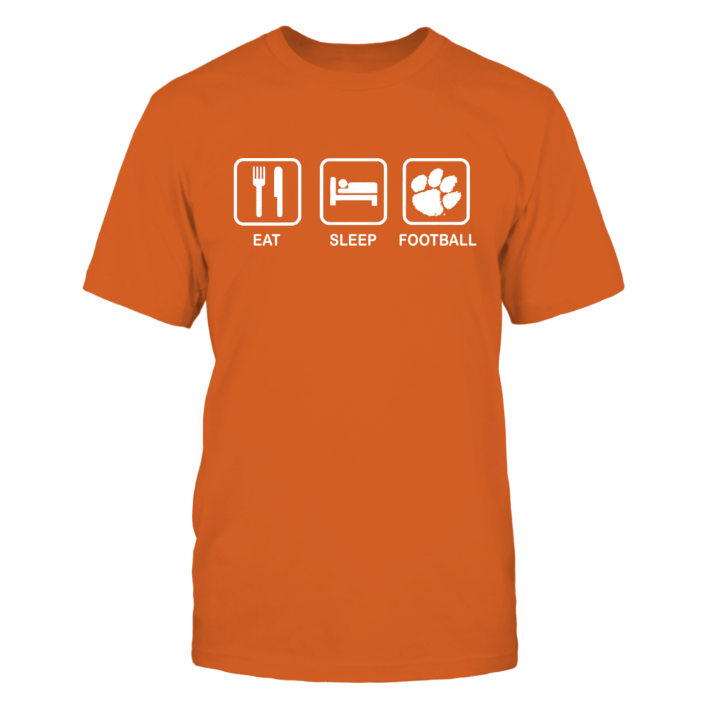Clemson Tigers Eat Sleep Clemson Football FanPrint