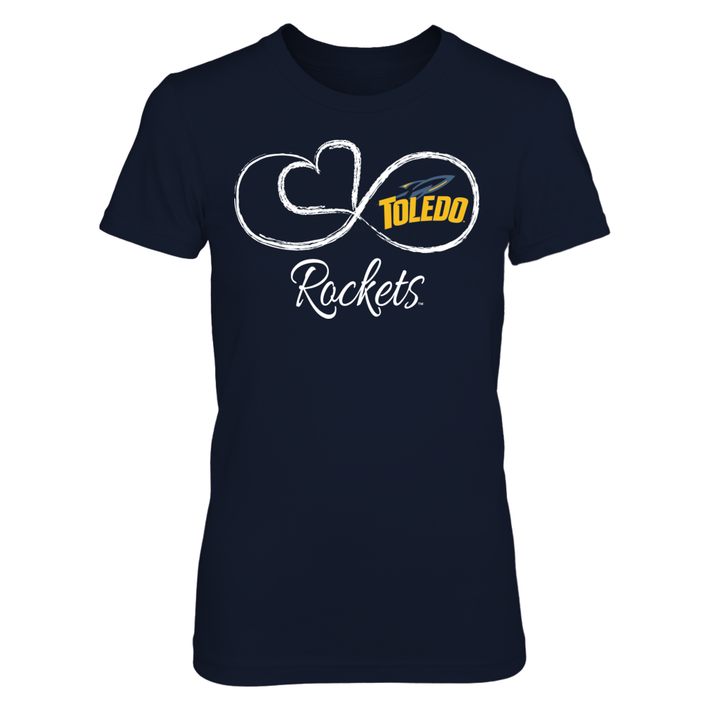 Toledo Rockets Infinite Heart - Toledo Rockets FanPrint