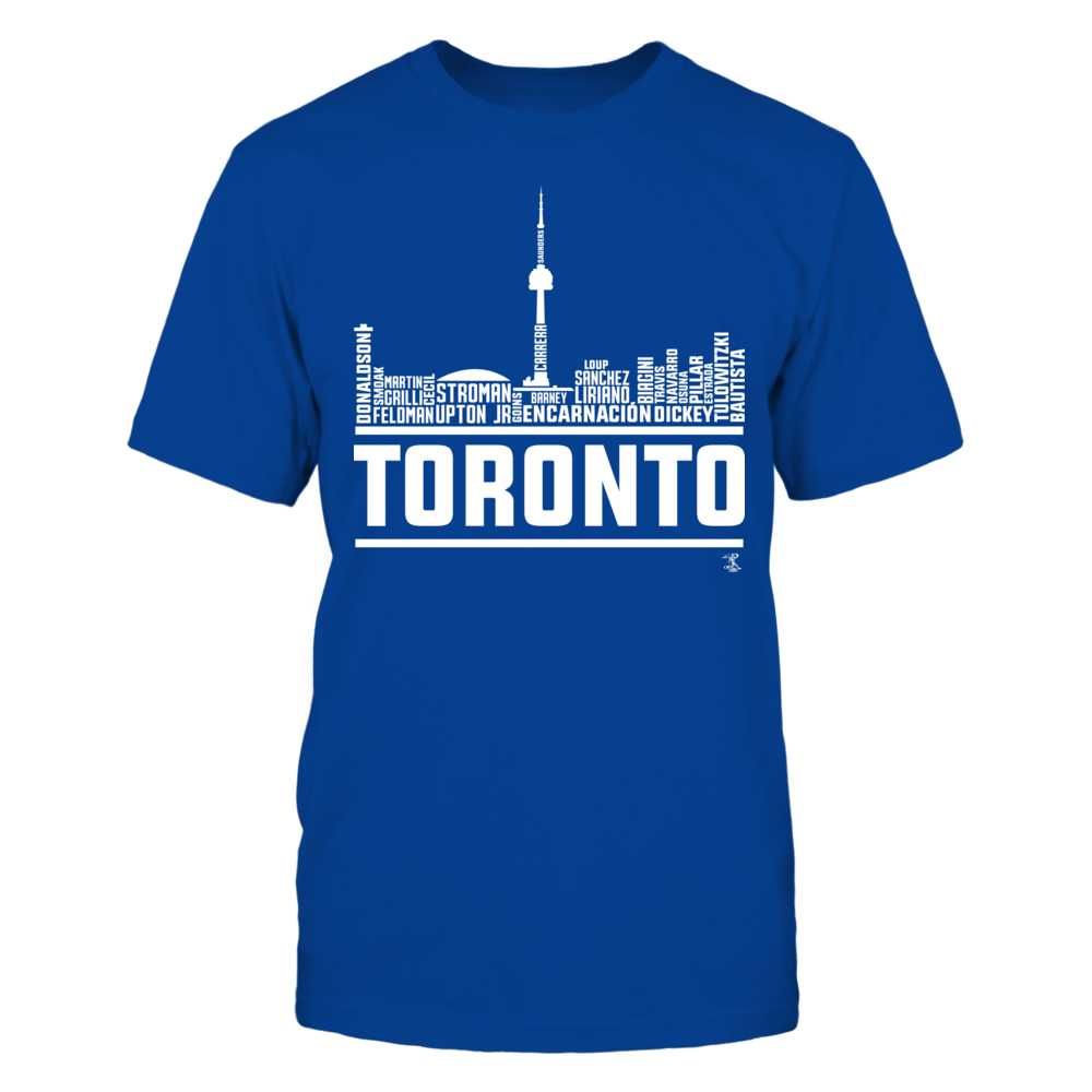 Toronto Roster Skyline 2016 Front picture