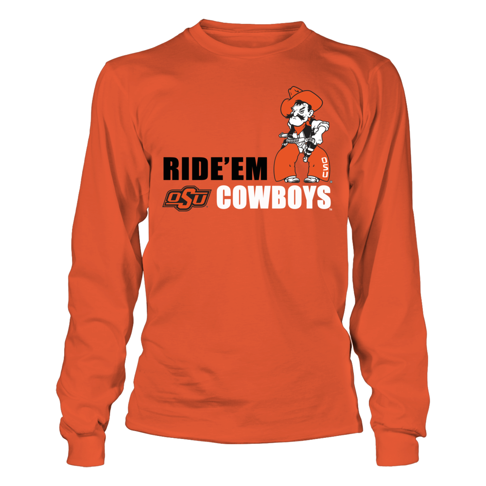 Oklahoma State Cowboys Okla State University Athletics Store - Ride 'Em Cowboys FanPrint