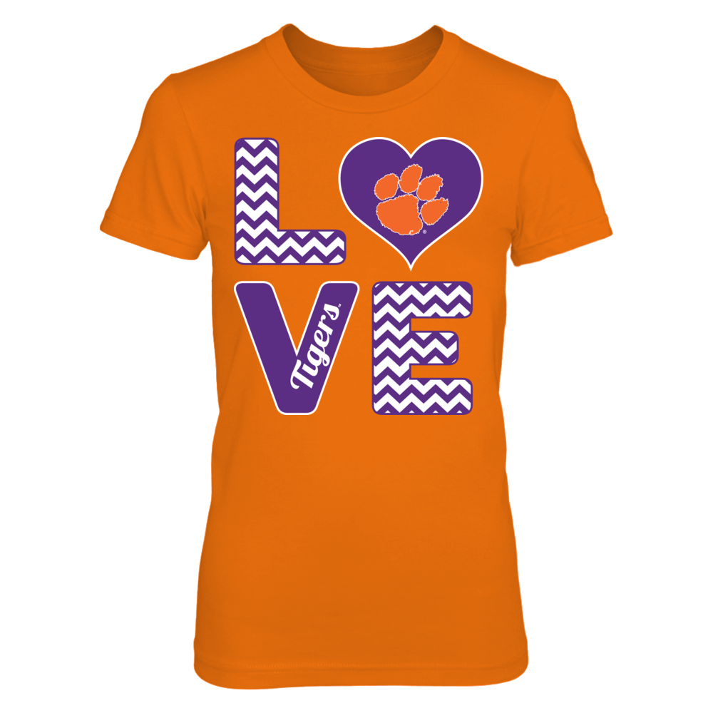 Stacked Love - Clemson Tigers Front picture
