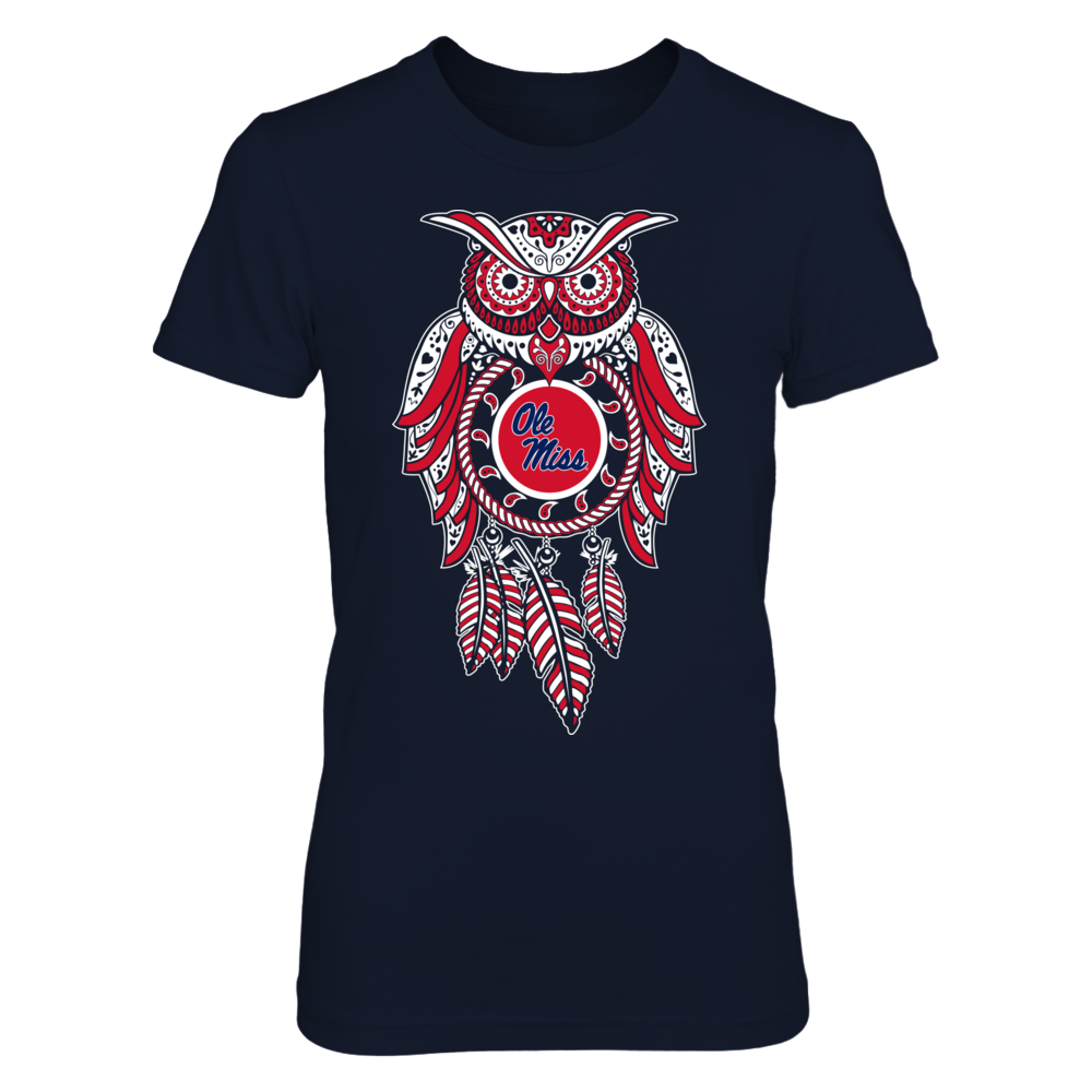 Sugar Skull Owl - Ole Miss Rebels Front picture