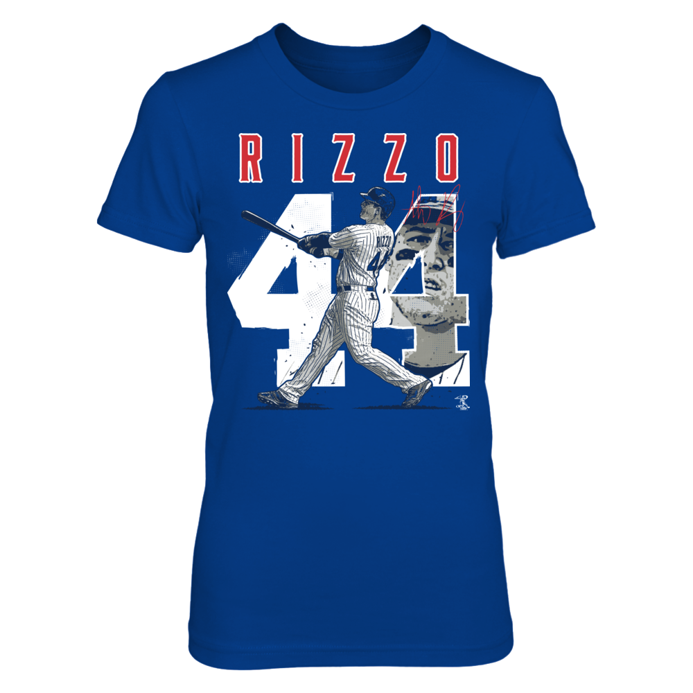 Anthony Rizzo - Number & Portrait Front picture