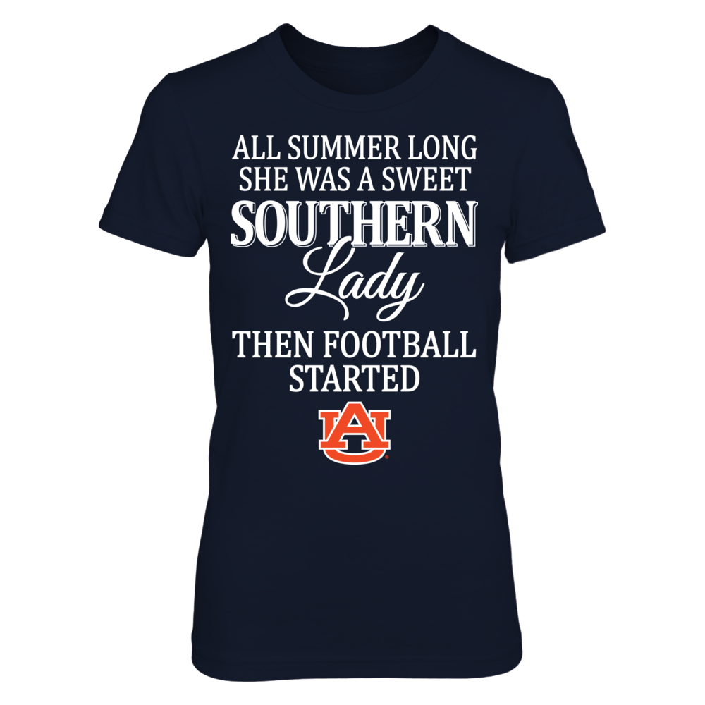 All Summer Long - Auburn Tigers Front picture