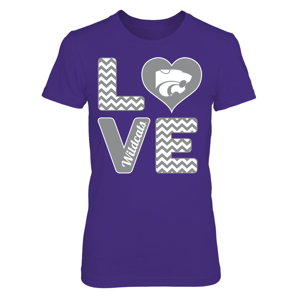 Stacked Love - Kansas State Wildcats Front picture