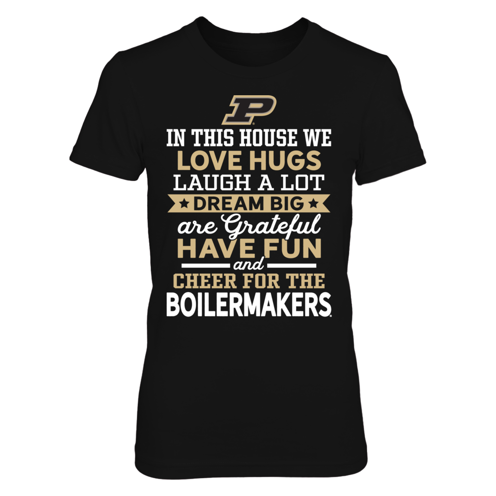Purdue Boilermakers - Love, Laugh, Dream Front picture