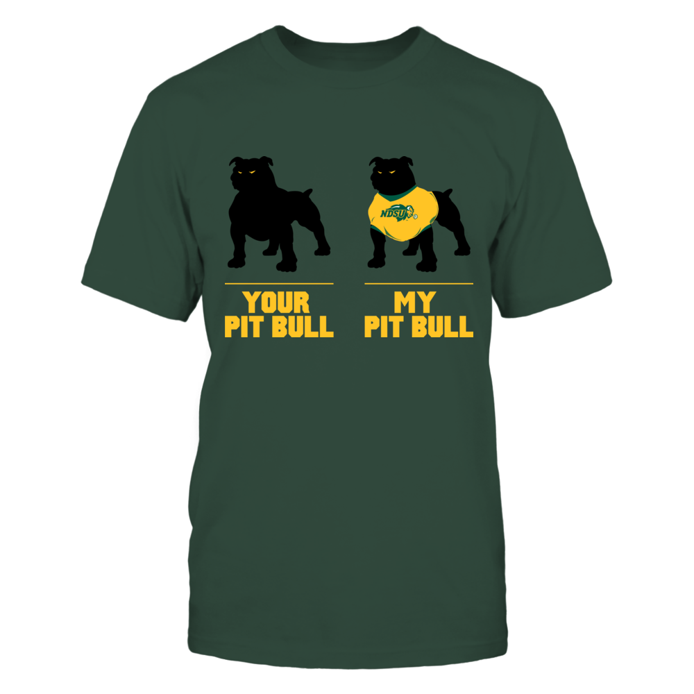 North Dakota State Bison - Your Pit Bull and My Pit Bull Front picture
