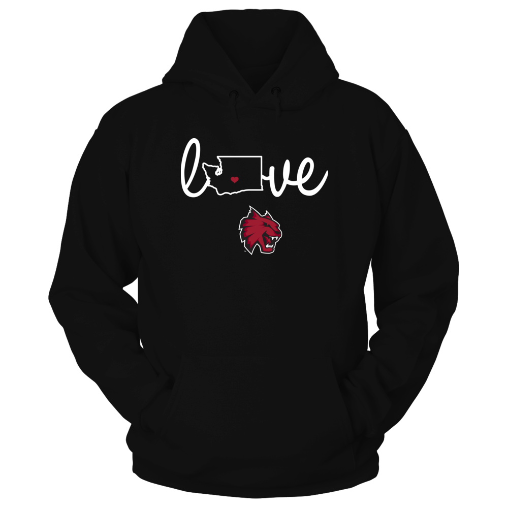 Central Washington Wildcats Central Washington Wildcats - State Love FanPrint