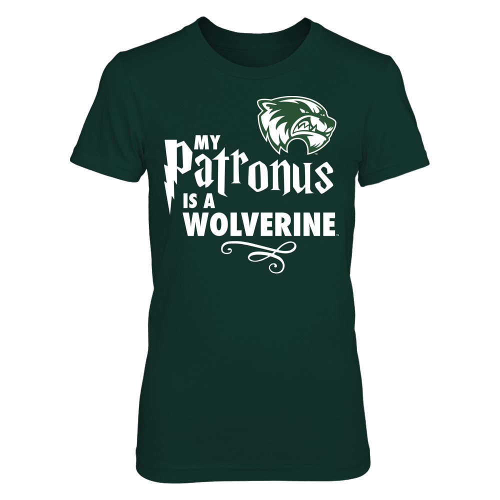 Utah Valley Wolverines My Patronus Is - Utah Valley Wolverines FanPrint