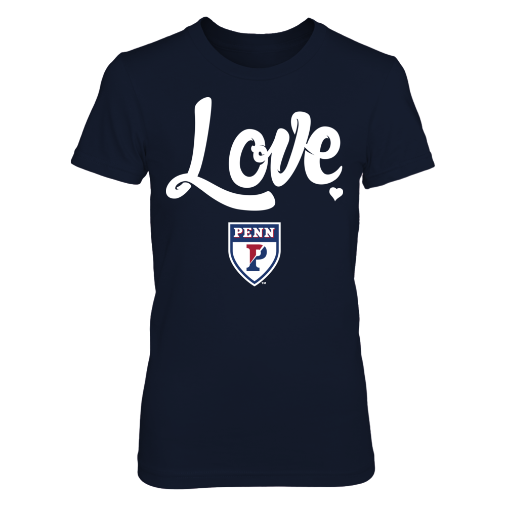 Love With Logo - UPenn Quakers Front picture