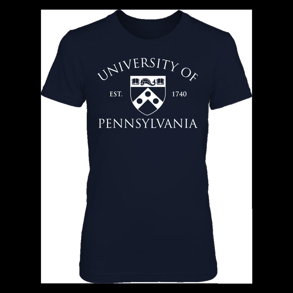 UPenn Quakers Classic Crest - UPenn Quakers FanPrint