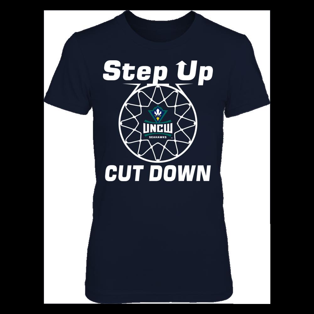 UNC Wilmington Seahawks Step Up Cut Down - UNC Wilmington Seahawks FanPrint