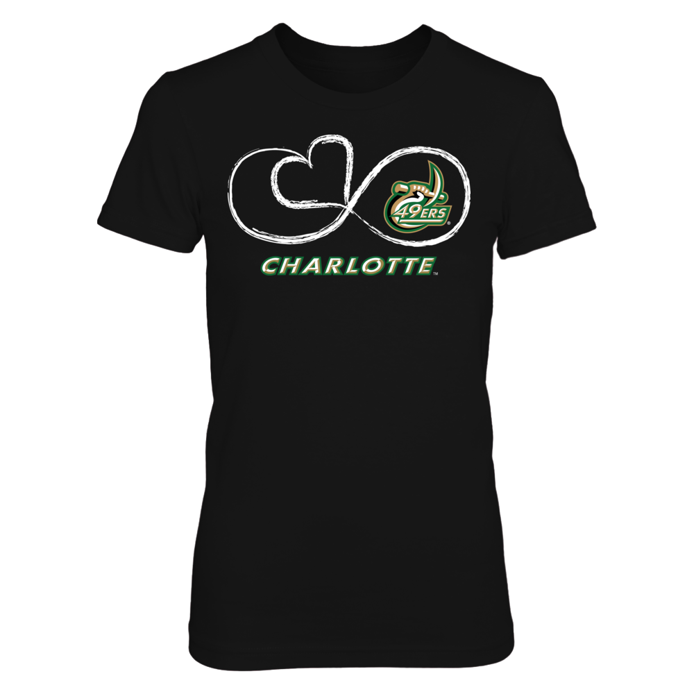 Infinite Heart - UNC Charlotte 49ers Front picture