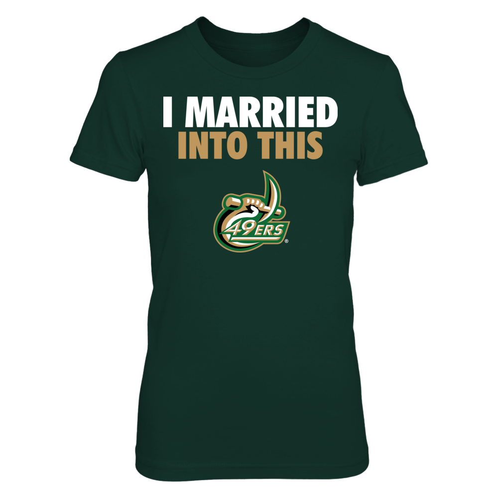I Married Into This - UNC Charlotte 49ers Front picture