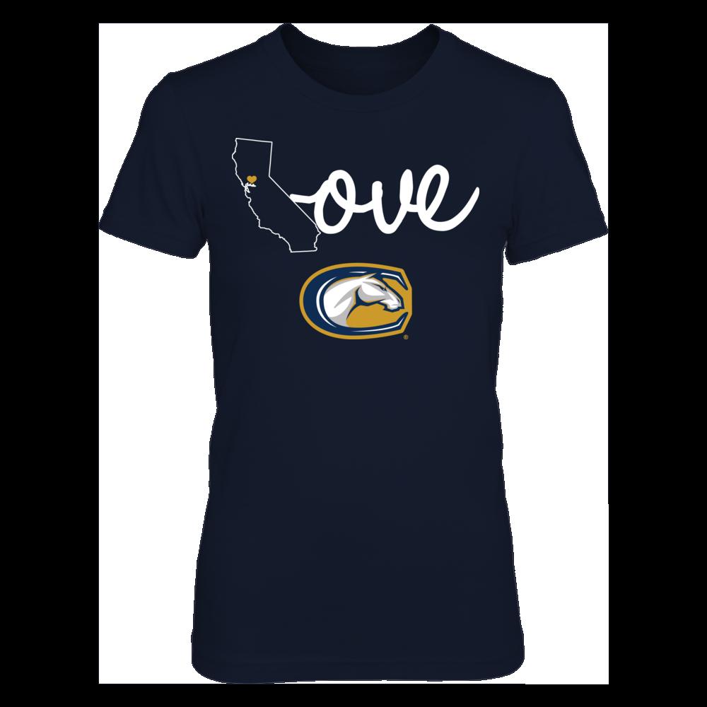 UC Davis Aggies State Love - UC Davis Aggies FanPrint