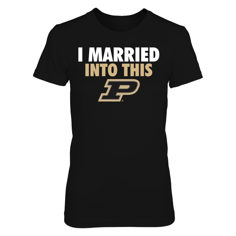 Purdue Boilermakers Purdue Boilermakers - I Married Into This FanPrint
