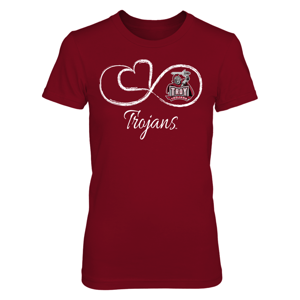Infinite Heart - Troy Trojans Front picture