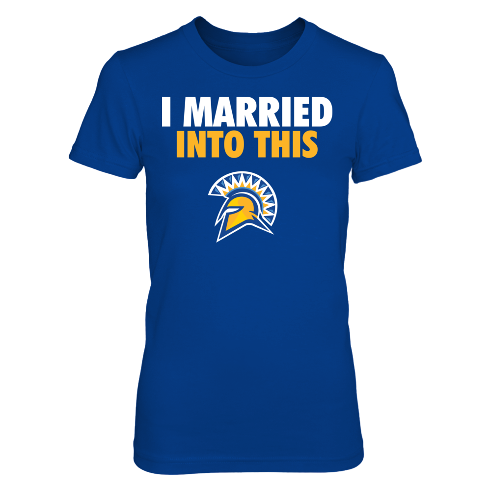 San Jose State Spartans I Married Into This - San Jose State Spartans FanPrint