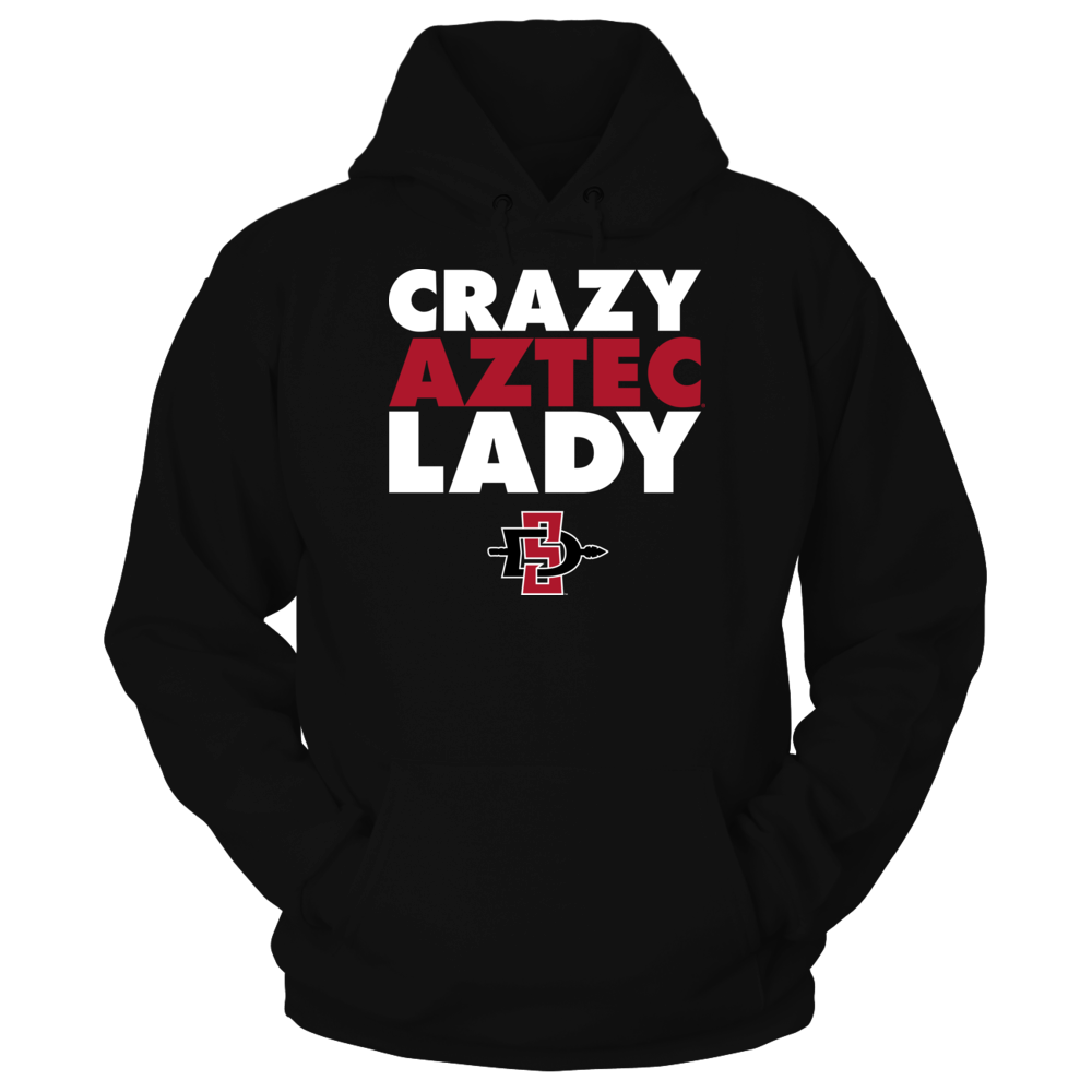 Crazy Lady - San Diego State Aztecs Front picture