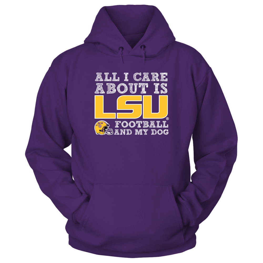 LSU Tigers - All I Care Front picture