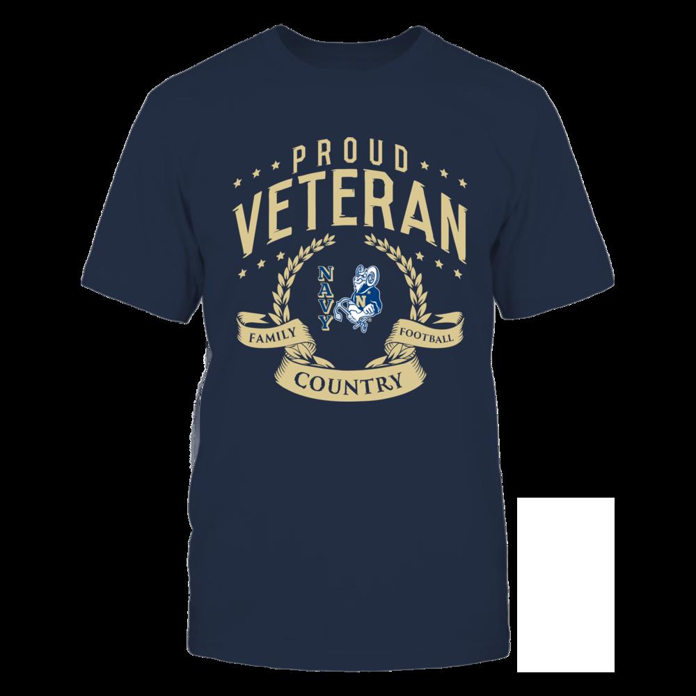 Proud Veteran US Naval Academy Front picture