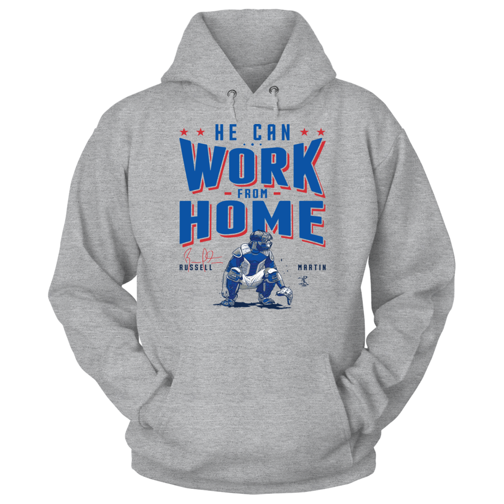 Russell Martin - He Can Work From Home Front picture