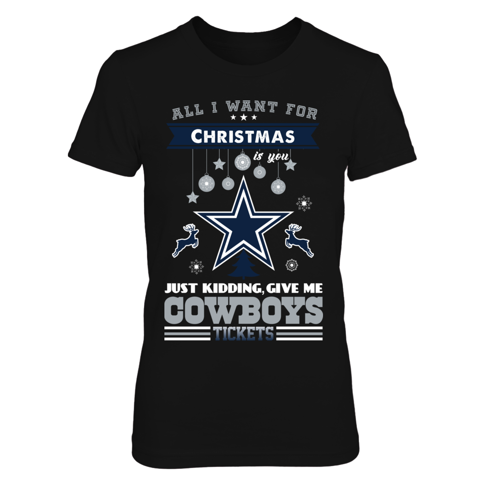 Dallas Cowboys - All I Want For Christmas Front picture