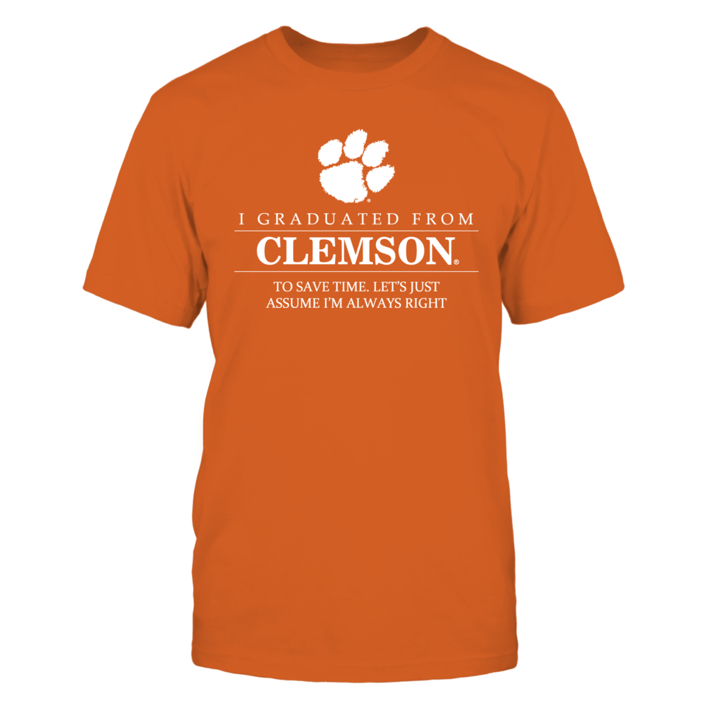 I Graduated From Clemson Front picture