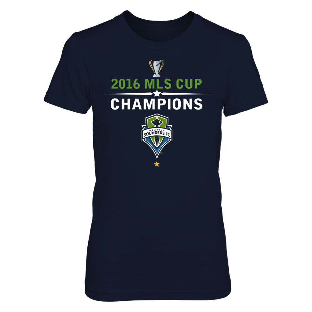 Seattle Sounders FC - 2016 MLS Cup Champions Front picture