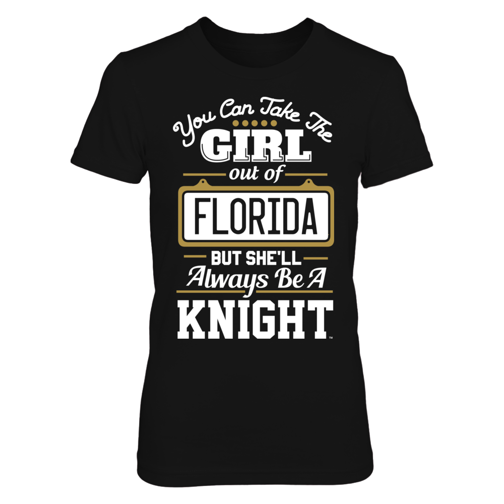 Take The Girl Out But She'll Always Be - UCF Knights Front picture