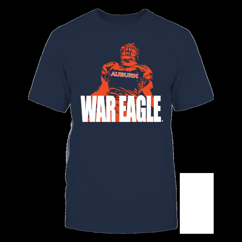 Auburn Tigers Auburn War Eagle FanPrint