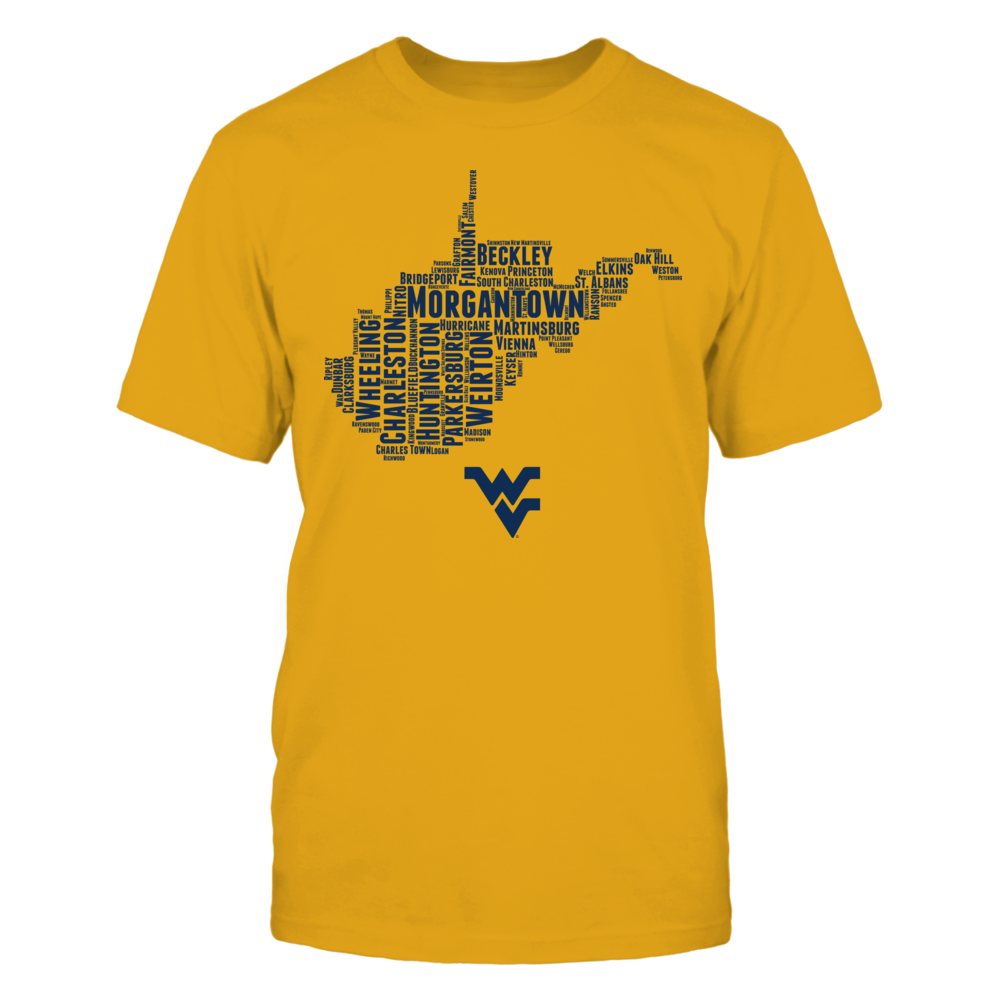 West Virginia Mountaineers Home State FanPrint