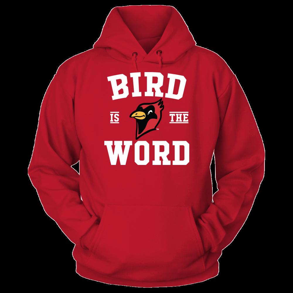 Otterbein Cardinals Bird Is The Word - Otterbein Cardinals FanPrint