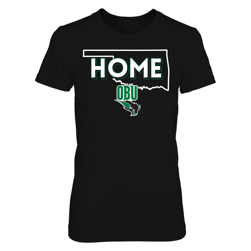 Home With State Outline - Oklahoma Baptist Bison Front picture