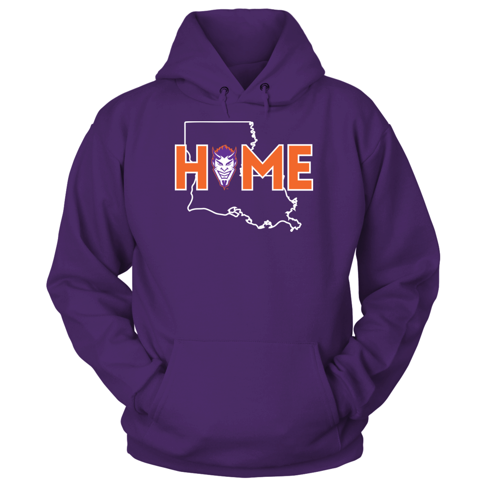 Northwestern State Demons Home With State Outline - Northwestern State Demons FanPrint