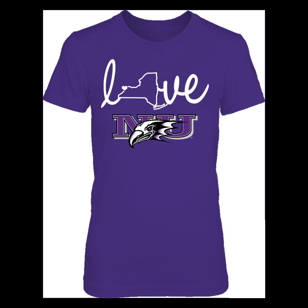 Niagara Purple Eagles Niagara Purple Eagles - State Love FanPrint